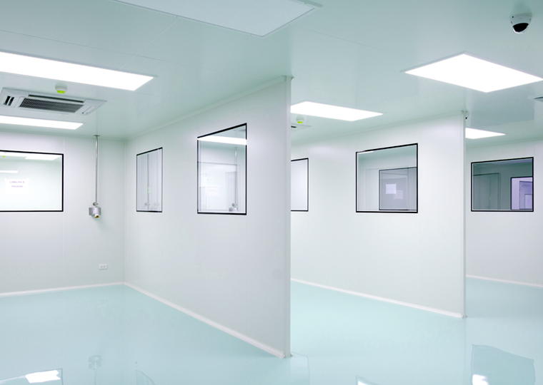 Modular cleanrooms for controlled environments